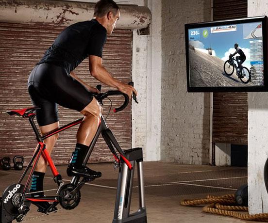 entrenador indoor para ciclistas