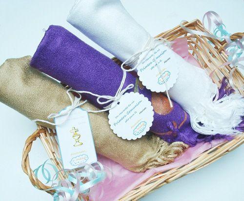 regalos artesanos para comuniones y bautizos