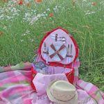 Cestas de picnic, tesoro vintage…