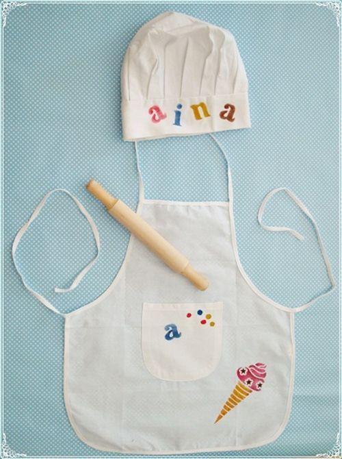 Delantal para ni os cocineros como en masterchef junior for Delantales para ninos cocina