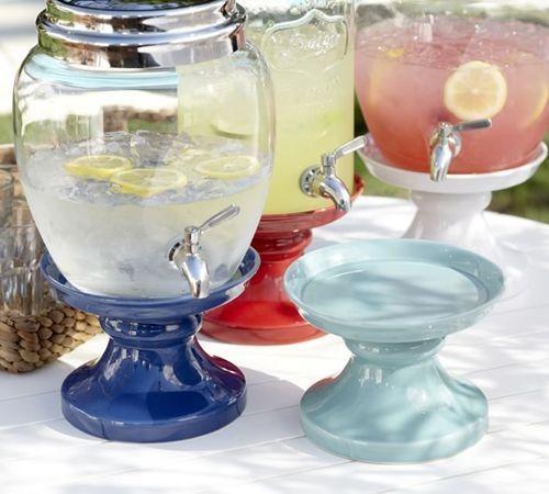 Dispensador de bebidas decorativo para bodas y fiestas 12