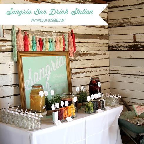Dispensador de bebidas decorativo para bodas y fiestas 4