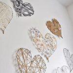 Manualidades con alambre: corazones para decorar bodas, paredes…