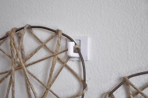 Manualidades con alambre corazones para decorar bodas, paredes... 4