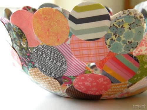 Manualidades para decorar hechas con papel maché 5