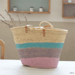 Manualidades para regalar: capazo decorado con pintura de tiza