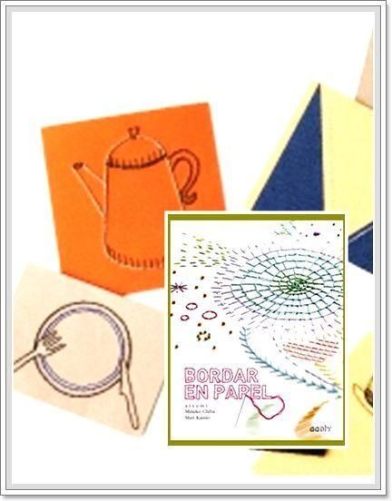 Tarjetas de Navidad originales hechas a mano con puntadas 5