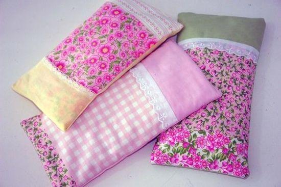 Regalos hechos a mano saquitos termicos aromáticos en patchwork 2