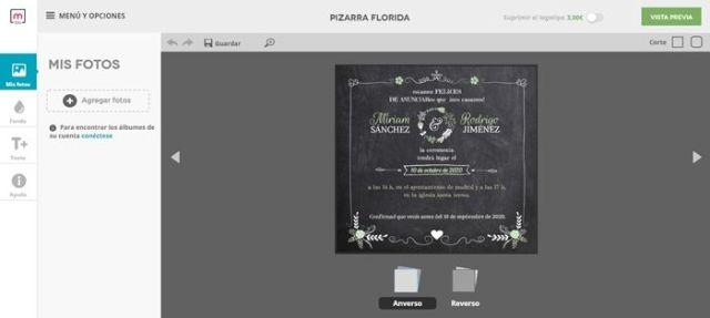 Invitaciones para fiestas hechas por internet con entrega rápida.