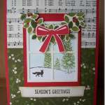 Hearth and Home Winter Scene, Stampin' Up!