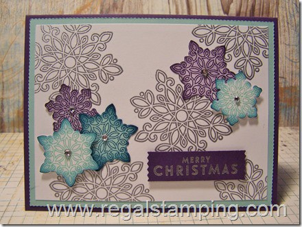 Flurry of Wishes by Stampin' Up!, card by Krista Thomas, www.regalstamping.com