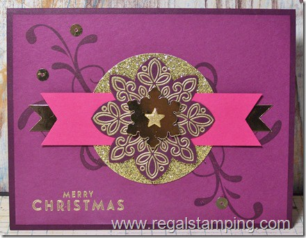 Flurry of Wishes, by Krista Thomas, www.regalstamping.com