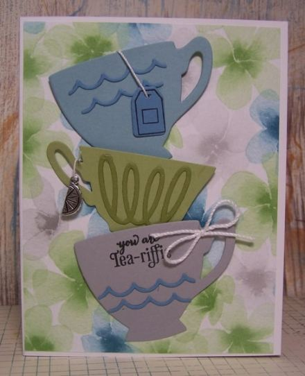 A Nice Cuppa by Phyllis L www.regalstamping.com Stampin' Up Occasions 2016 Catalog