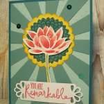 Remarkable You Sunburst Card