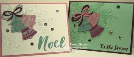 Seasonal Bells by Krista Thomas, www.regalstamping.com