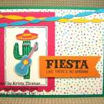 Birthday Fiesta Cactus Dude, A Clean & Simple Card