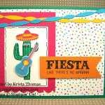 Birthday Fiesta Cactus Dude, A Clean & Simple Card