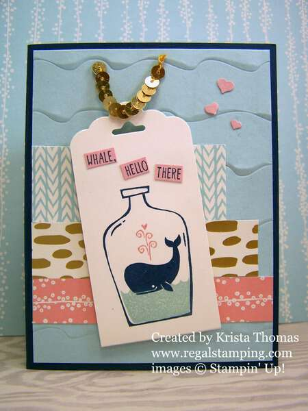 Message in a Bottle, Stampin' Up