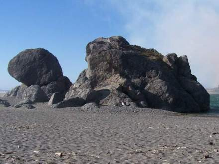 Turtle Rock in Gold Beach Oregon