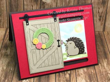 Barn Door & Hedgehugs, Stampin' Up! 2018 Occasions
