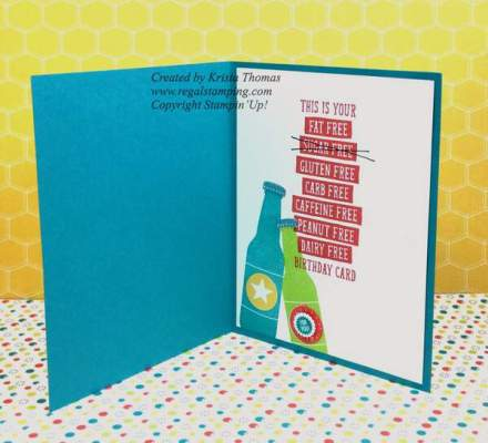 Bubble Over with Birthday Wit by Krista Thomas, 2018 Occasions catalog, Stampin' Up!