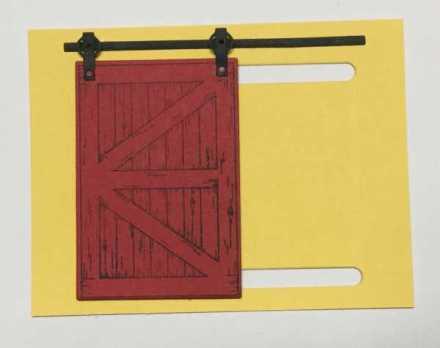Barn Door, Sliding Door Tutorial, www.regalstamping.com