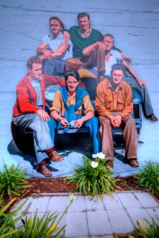 Mack and the boys Mural