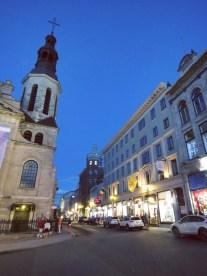 Basilique-Cathedrale Notre-Dame de Quebec and Rue De Buade