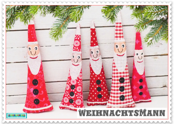 Noch ne WeihnachtsStickdatei : Weihnachtsmann Nikolaus