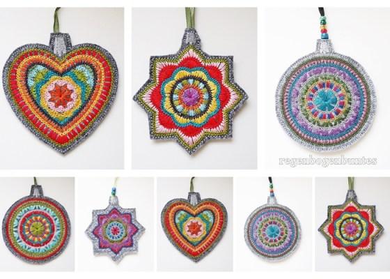 Crochet Christmas Weihnachts Stickdatei Rabatt