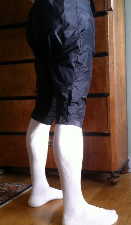 Breeches: Side view.