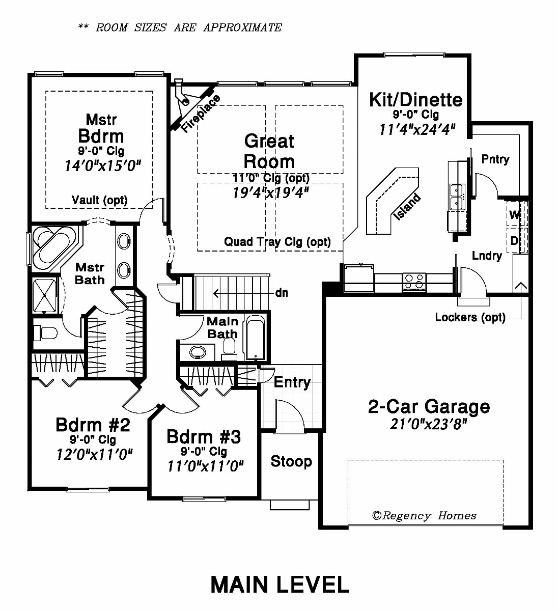 The Main Level Of This Lovely Floor Plan Includes A Spacious Master Bedroom  Suite. The Master Bath Has A Soaking Tub And Separate Shower, Private Toilet,  ...