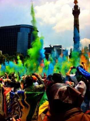 marcha contra Monsanto en la Ciudad de México Foto: regeneracion.mx