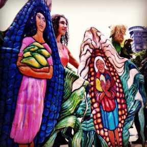 En el Distrito Federal se celebró el Carnaval del Maíz Foto: regeneracion.mx