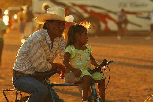 El pueblo yaqui mantiene un gobierno basado en usos y costumbres. El gobierno es una autoridad tradicionalFoto Víctor Camacho