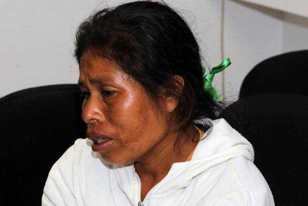 Elia Tamayo, madre del menor