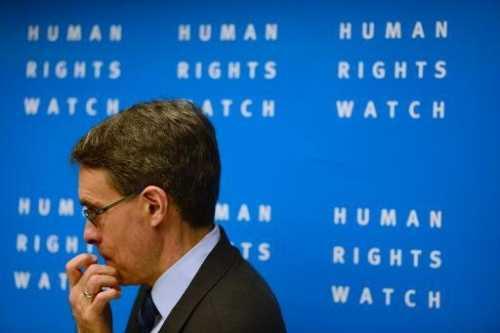Premios Nobel de la Paz denuncian a Human Rights Watch por insistir en vincularse a EU