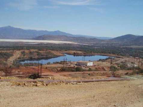 Cananea, Son. mina de tajo a cielo abierto Foto: mexicotoxico.com