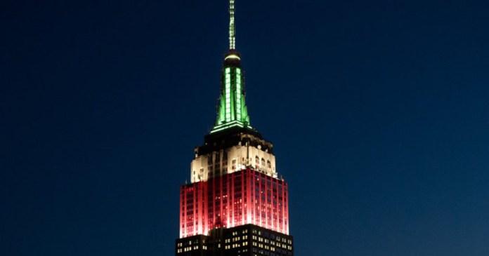 Se ilumina el Empire State con colores de la Bandera de México nueva york