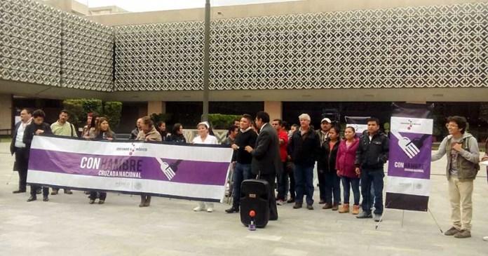 Cooperativas inician huelga de hambre por recortes presupuestales