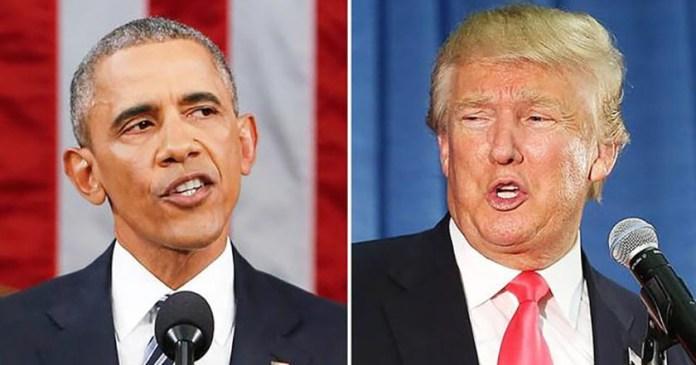 donald trump barack obama estados unidos presidentes obamacare