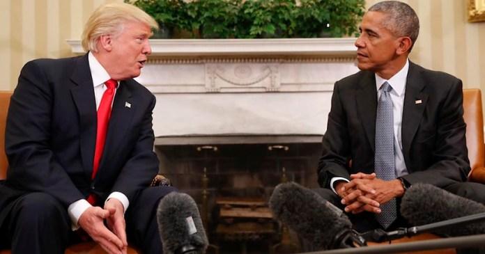 donald trump barack obama presidente estados unidos