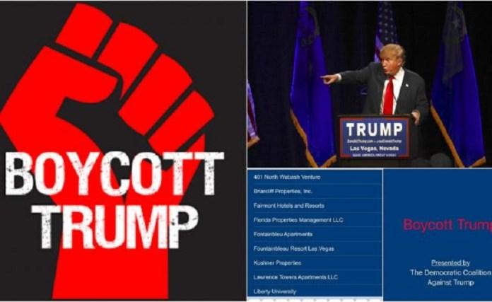 boicot trump