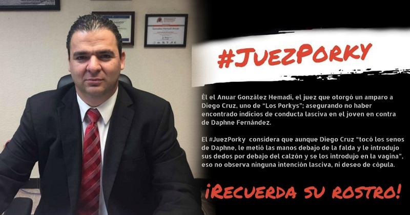Juez Porky 1 - Destituyen a juez que otorgó amparos a 'Los Porkys' por corrupción