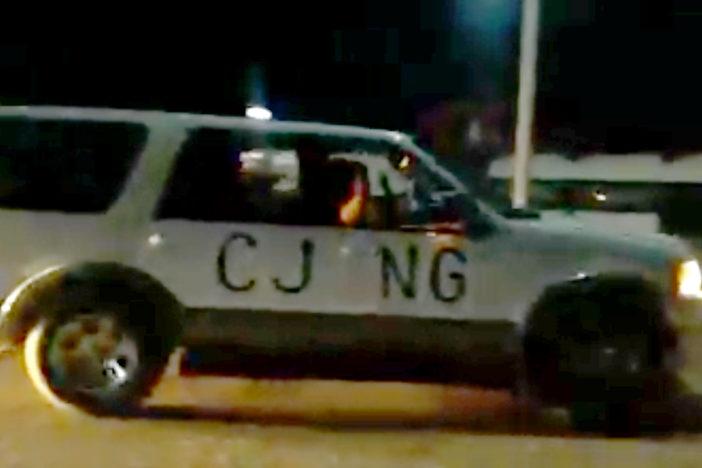 cartel 1 - Fuerza civil rescatan a menores secuestrados, en Boca del Río Veracruz