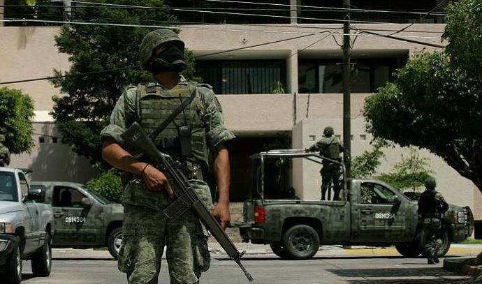 ejército derechos humanos militarización ley de seguridad interior CNDH