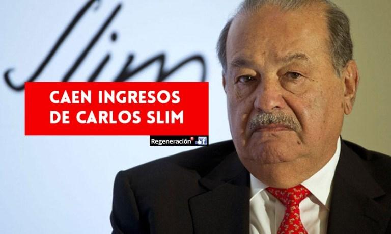 Caen 50% las ganancias de América Móvil, propiedad de Carlos Slim