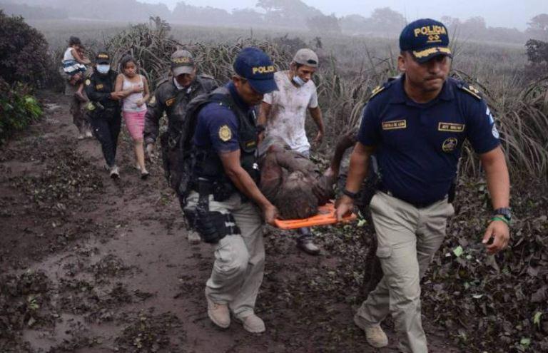 Terminó la erupción del volcán de Fuego y dejó al menos 25 muertos en Guatemala