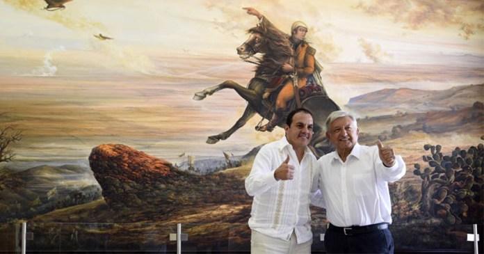 AMLO expresa su apoyo 'absoluto y total' a Cuauhtémoc Blanco
