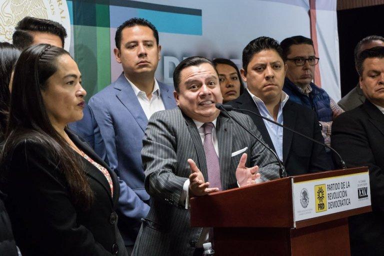 Manuel Granados renunció y el PRD se quedó sin dirigente nacional